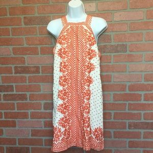 Anthropologie Maeve Embroidered dress size 6 (M72)